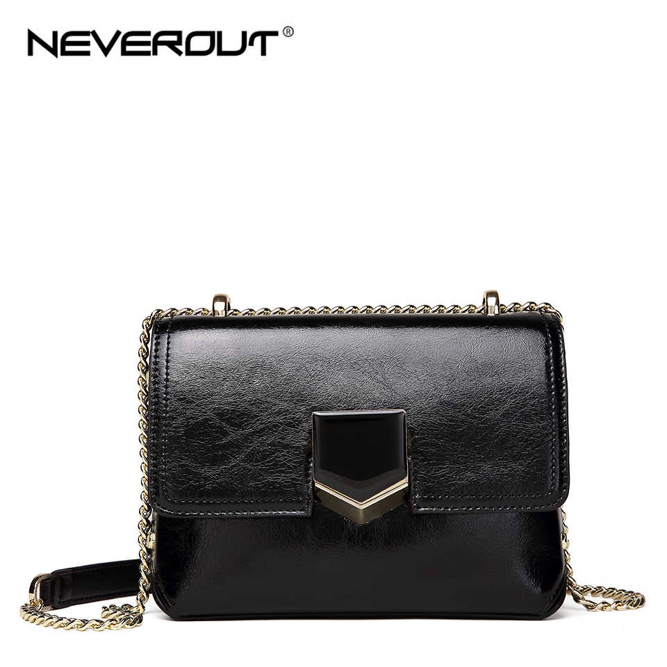 1e3f4ff4349 Detail Feedback Questions about NEVEROUT Soft Genuine Leather Bag ...