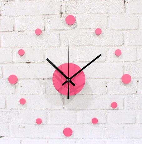 033110 настенные часы безопасным современный дизайн цифровой старинные большой привело кухня декоративное зеркало подарок настоящее точка п...