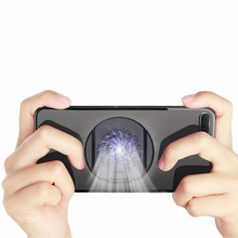 Gaming Mobile Phone Cooler Holder Mute Gamepad Shooter Radiator Heat Sink Stand Portable Game Cooling Fan Pad Universal