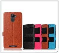 For BQ Aquaris U Plus Case Leather PU Magnetic Wallet Ultra Slim Fashion Book Style Flip