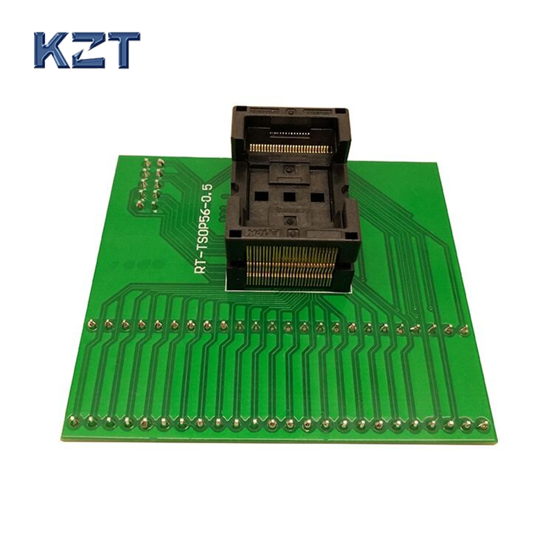 New TSOP56 Opentop Programming Socket IC Test Socket Flash Burn in Socket Adapter High Quality Eletronic for RT809H programmer цена