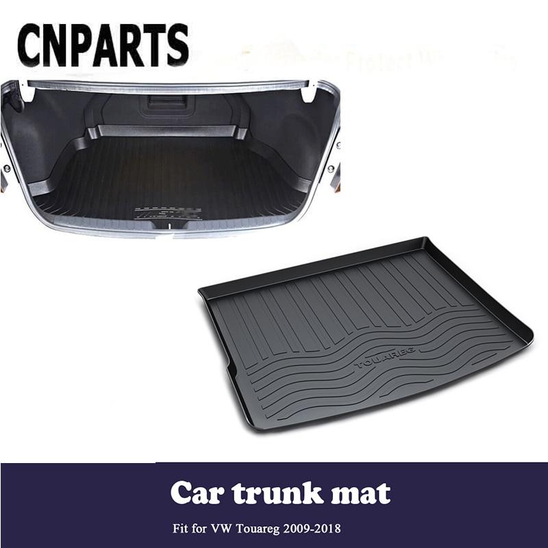 все цены на CNPARTS For Volkswagen VW Touareg 2009-2018 Car Styling Cargo Liner Rear Trunk Anti Slip Mat Pad Custom Boot Tray Waterproof онлайн