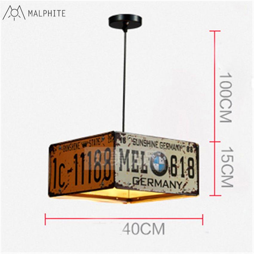 Retro Industrial Wind pendant lights Restaurant card seat Net Restaurant Cafe shop Iron Creative bar plate Styling pendant lamp in Pendant Lights from Lights Lighting
