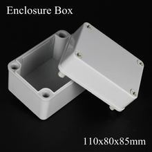 110*80*85MM IP67 New ABS electronic enclosure box  Distribution control network cabinet switch junction outlet case 110x80x85MM