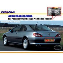 Камера заднего вида для peugeot 406 2D coupe/4D Седан подтяжка лица/камера заднего вида/NTST PAL/светильник для номерного знака OEM