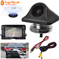 170 Degrees 420TV Wide Angle Triangular Rear Bumper Car Night Vision Reverse Rear View Camera Support PAL / NTSC