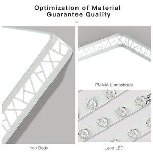 Image 5 - Visdanfo modern Acryle yuvarlak LED tavan lambası AC220V değiştirilebilir lambaları oturma odası için ışıkları fikstür yatak odası ev aydınlatma