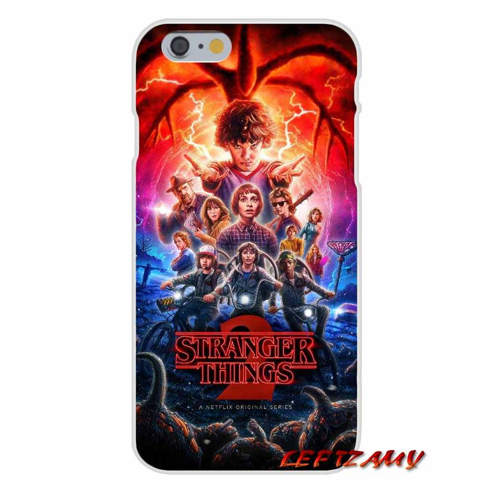 For iPhone X 4 4S 5 5S 5C SE 6 6S 7 8 Plus Stranger Things 2 Accessories Phone Shell Covers