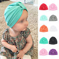 Chosen Baby Girls Boys Infant Toddler Cotton Soft Turban Knot Cap Beanie Hat
