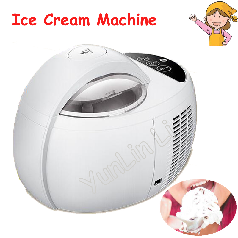 1L Household Ice Cream Machine Automatic 220V 110W Large Capacity Ice Cream Maker DIY Fruit Ice Cream Machine ICM-1000A edtid ice cream machine household automatic children fruit ice cream ice cream machine barrel cone machine