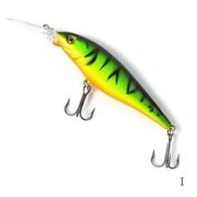Соленой minnow bass bait свежий крюк рыболовные # жесткий приманки качество