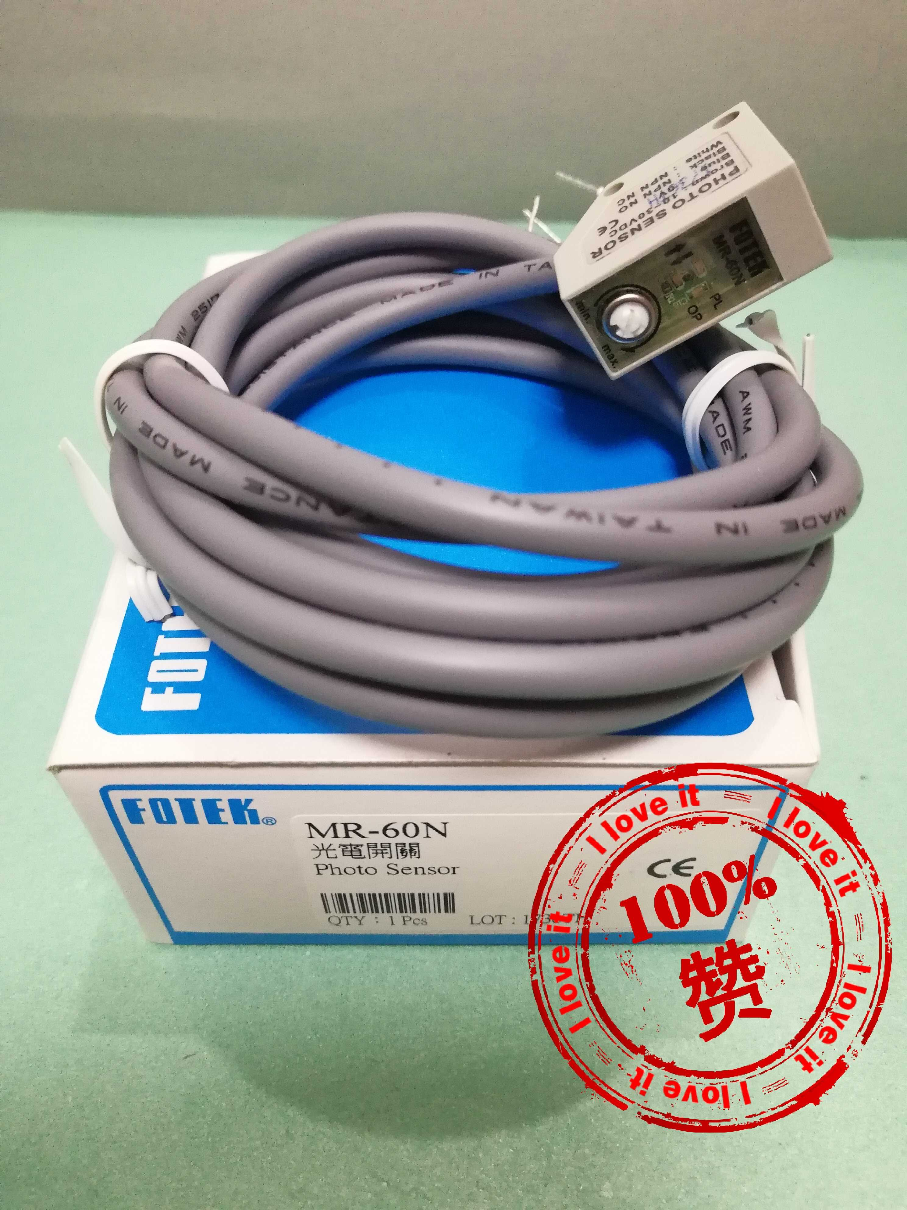 MR-60N Small Waterproof Structure Photoelectric Switch Sensor High Accuracy Mr-60n