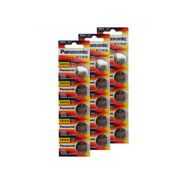 цена на 15 X original brand new battery for PANASONIC cr2032 3v button cell coin batteries for watch computer cr 2032