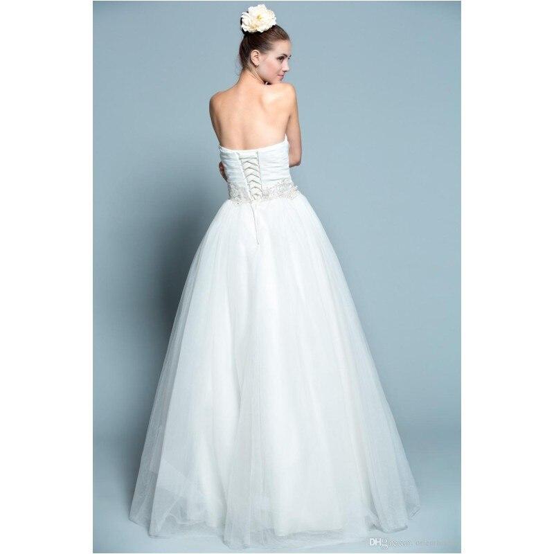 Simple Elegant Ball Gown Wedding Dress Princess Style Sweetheart ...