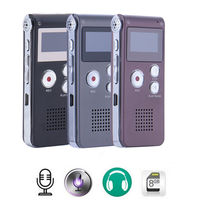 8GB Digital USB Voice Recorder MP3 Dictaphone Recorder Pen Stereo Recording Audio Recorders MP3 Player 3
