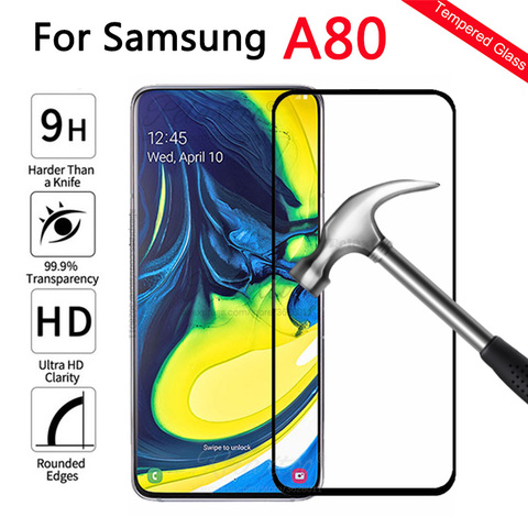 Protective Glass For Samsung A80 Screen Protector On the For Samsung Galaxy A80 Tempered Glas a 80 sm-A805F A805 display Film 9h Pakistan