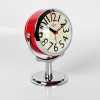 Creative Small Alarm Clock Students Simple Lovely Home Decoration Quiet Bedside Table Children's Mini Bedroom Clock