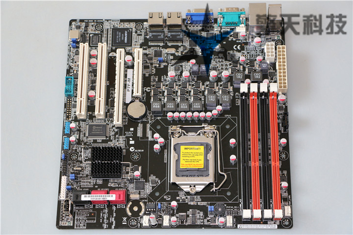 original motherboard for ASUS P7F-M <font><b>DDR3</b></font> LGA 1156 for Intel 3420 PCH <font><b>ECC</b></font> Memory 16GB VGA Desktop motherborad image