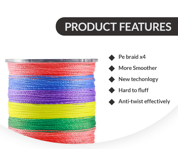 Erchang 300M PE Fishing Line Super Strong Japanese colorful Multifilament PE Material Braided Fishing Line Color Braided Wires электрическая плитка tesler pe 10 white pe 10 white