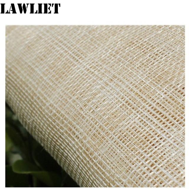 2 Meter natural Ivory color Sinamay Fabric of Abaca d4d76aab396