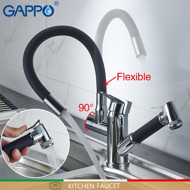 Gappo kitchen Faucets faucet kitchen mixer pull out water mixer Faucets flexible kitchen water sink Faucets mixer tap