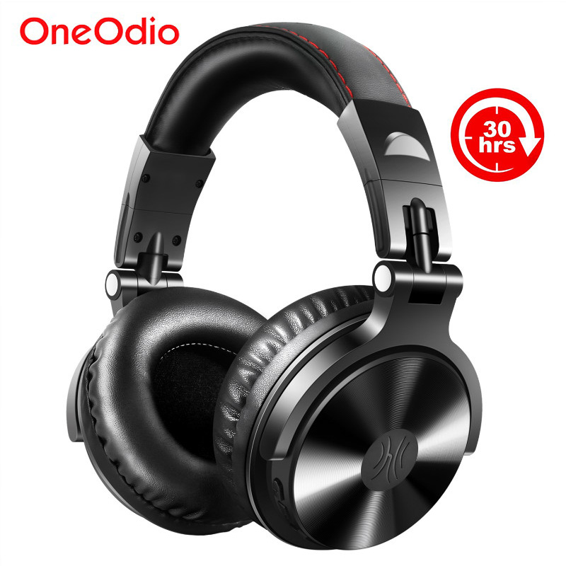 Oneodio Bluetooth V4.1 Headphone Foldable Over Ear Stereo Wireless Headset Studio Headphones With Microphone For Phone Computer oneodio professional studio headphones dj stereo headphones studio monitor gaming headset 3 5mm 6 3mm cable for xiaomi phones pc