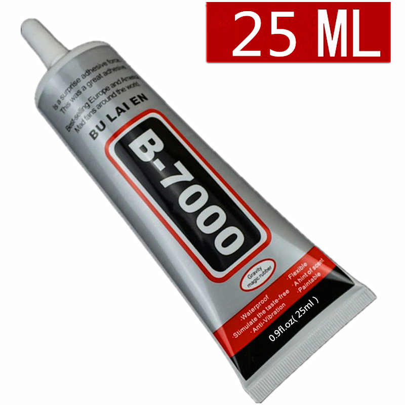 1 pc 25ml Best B-7000 Multi Purpose Glue Adhesive Epoxy Resin Diy Crafts Glass Touch Screen Cell Phone Super Glue B7000 Nail Gel best b7000 glue 50ml multi purpose b 7000 adhesive jewelery epoxy resin diy jewelry crafts glass touch screen cell phone repair