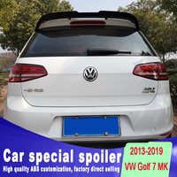 2013 2014 2015 2016 2017 2018 2019 for Volkswagen Golf 7 MK7 Spoiler rear window roof spoiler Golf Rear Spoiler by primer paint
