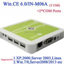 N380 тонкие клиенты поддержка windows 7 с 2 COM порт embeded WIN. CE 6.0