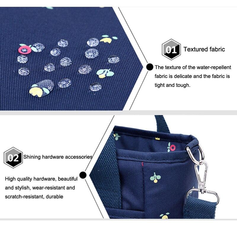 SeckinDogan Baby Diapers Bag Outdoor Mommy Bag for Stroller Large Capacity Insulation Nursing Bag Polyester Diaper Bag Organizer