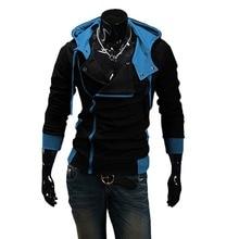 Winter & Herbst Mode Marke Hoodies Männer Casual Outwear Männlichen Hoody Reißverschluss Langarm-sweatshirt Jacke Plus Größe M-6XL