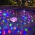 2pcs /lot 6V 3AAA Underwater LED Aquarium Light Show for Pond Spa Hot Tub Disco LED Swimming Pool Light  Freeshipping