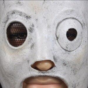 Image 3 - Slipknot Mask Corey Taylor Leader singer Cosplay TV Slipknot Latex Dj Masks Halloween Party Props