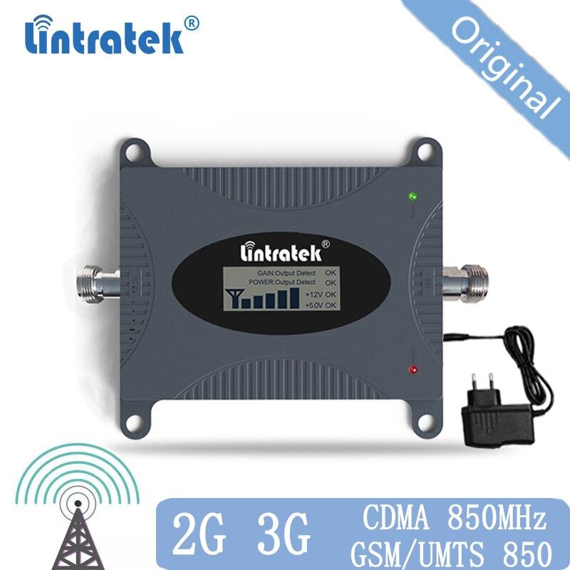 CDMA Repetidor de Sinal de 850 MHz 2G 3G 4G 850mhz UMTS GSM CDMA de Telefonia móvel Repetidor de Sinal amplificador de Sinal de Telefone Celular impulsionador 20