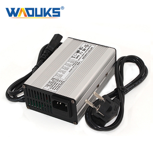 36.5V 4A LiFePO4 Battery Charger For 10S 32V LiFePO4 Battery Charger E-bike Aluminum shell With fan(China)