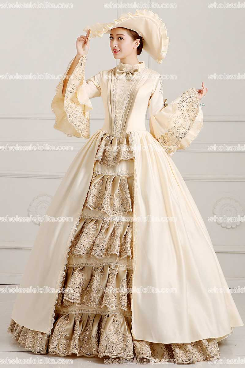 caa213e4bf4e5 US $160.0 |HOT!! Global FreeShipping 18th Century Marie Antoinette  Renaissance Victorian Period Rococo Belle Prom Party Gwons-in Dresses from  Women's ...