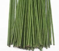 1KG Wholesale 5# 5mm 60cm Length PVC Green Padicel Peduncle With Tape Artificial Flower Stem For Bouquet Craft DIY