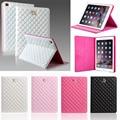 Для iPad 6 Воздуха 2, для iPad mini, смарт Проснуться и Сна Кожа Флип Корона Чехол Для iPad 5, iPad4, для iPad 2 Случае