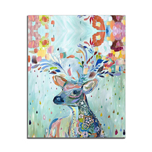 Canvas Painting Modern Colorful Home Decor Animals Posters and Prints Children Bedroom Living Room Picture