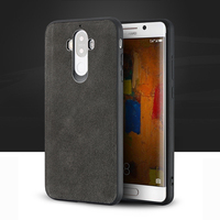 For Mate 9 10 Pro case Suede leather all inclusive shock resistant back cover For P10 P20 Nova 2S Plus Honor V9 V10 phone case