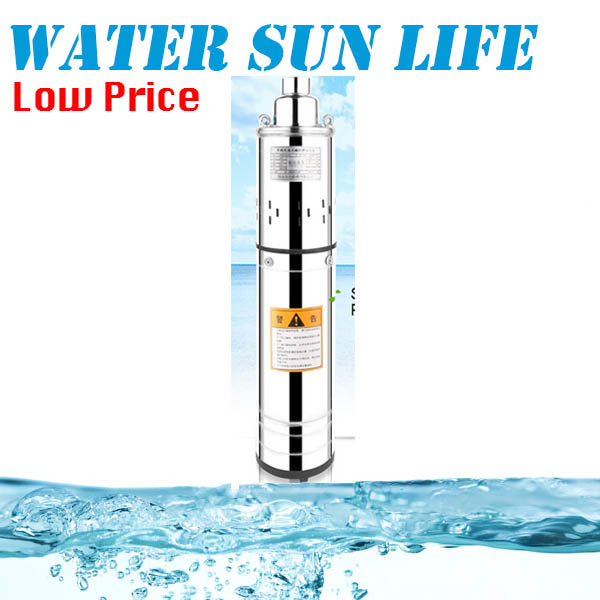 370W /220V Submersible Screw Pump Household Stainless Steel Submersible Pump For Irrigation Model:QGD-1.4-35-0.37 household self priming high lift submersible pump 220v 370w 750w 1500w agricultural sewage pump irrigation equipment