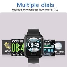 Fitness Tracker Smart Watch, Ip67 Waterproof Watch Activity With Heart Rate Monitor, Wearable Bracelet S