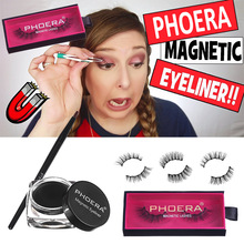 New Magnetic False Eyelashes Liquid Eyeliner Gel Eye Liner Makeup Glue-free Special Magnet Lashes Easy To Use