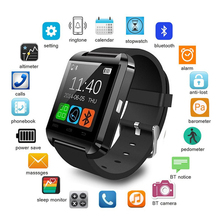 Bluetooth Wristwatch Sport U8 Smartwatch Electronic Intelligent Clock Pedometer for Women Men Unisex Smart Watch PK A1 GT08 DZ09 new fahion sport u8 smart watch electronic intelligent clock pedometer for women men unisex smart watch pk u8 gt08 dz09