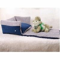 Multifunctional Beds Clamshell Dog Sofa Bed Flip Small Medium Dog All season Blanket Keep Warm Cat Dog House Mat Pet Products