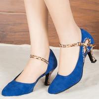 YC06 EU34-41 Satin   Dance     Shoes   Salsa Tango Ballroom dancing Party   shoes   Girls Ladies Heel Latin   Dance     Shoes   Rhinestone Women