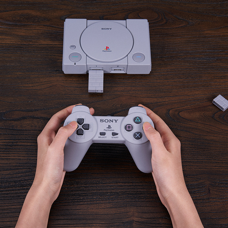 8BitDo Mod Kit For PlayStation Classic Classic Mini Classic Game Host Original Handle DIY Wireless Bluetooth For Sony Ps1 Mini