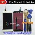 Reparación de alta calidad para xiaomi redmi teléfono 4a lcd pantalla y pantalla táctil de reemplazo digitalizador asamblea color blanco