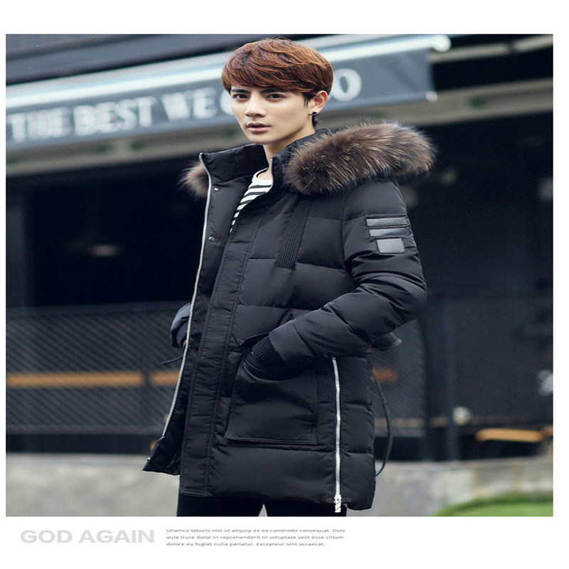 ФОТО New Brand Winter Jacket Men's Winter Jacket Hooded Parkas Mens Thickening Outerwear Jackets Coat Men Winter Jacket Parka Men