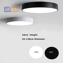 LED Modern Acryl Alloy Black White Round Lamp.LED Light.Ceiling Lights.LED Ceiling Lamp For Foyer Bedroom